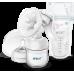 Молокоотсос ручной Comfort c бутылочкойи пакетами для хранения грудного молока (10 шт.) Купить