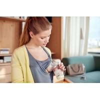 Молокоотсос ручной Natural c бутылочкой