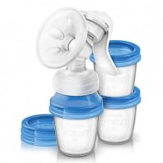 Молокоотсос ручной Natural c контейнерами Купить
