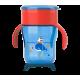 """Чашка """"взрослая"""" 260 мл. 9 мес+, красно-синяя"""