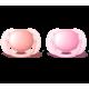 Пустышка силиконовая Ultra Soft, 0-6 мес. (уп. 2 шт.), для девочки
